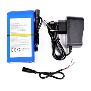 Pack Battery 12 Volt 7000mAh 7Ah 12V Rechargeable Alta Quality' Lithium F2D4