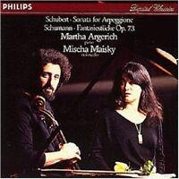 MARTHA ARGERICH & MISCHA MAISKY - SCHUBERT-KLAVIERSONATE D 821/+  CD NEU