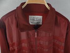 NEW NWT Mens Marc Ecko Full Zip Burgundy Jacket $59.50 Size XL (Fits L)