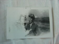 Unusual Vintage Photo Girl Friends in Arms Disappear 806