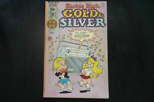 Richie Rich Gold and Silver 9  (b4) 1979 Good condition Harvey