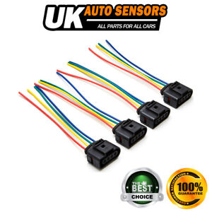 New Fits A4 (B6 / B7) 1.8 Petrol 4x Ignition Coil Pack Wiring Harness Looms