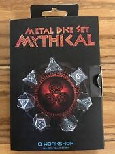 Exotic Dice Sets: Metal Mythical Dice Set (7)