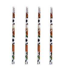 SET OF 4 AMERICAN SPORTS THEMED PENCILS - KIDS STATIONERY BACK TO SCHOOL GIFT