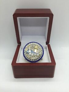 2017 Golden State Warriors Stephen Curry Championship Ring Set With Display Box