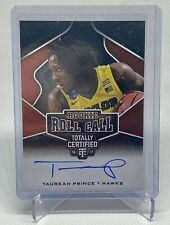 2016-17 Panini Certified TAUREAN PRINCE On Card Auto Rookie RC #11