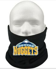 Denver Nuggets Basketball Gift Winter Thermal Fleece Scarf Snood Neck Warmer