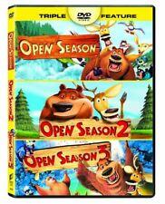 Open Season/Open Season 2/Open Season 3 DVD Triple Feature