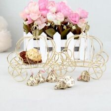Iron Wire Candy Holder Metal Party Event Table Decoration Carriage Pattern Stand