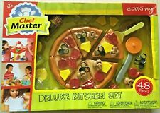 2014 MASTER CHEF DELUXE KITCHEN PIZZA PLAYSET 3+ NEW RARE