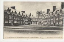 Triangle Dormitories University of Pennsylvania 1905 U/B USA Postcard 509a