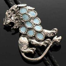 Bolo tie con León, derecho grande, Lion, vaquero - & Western-rosada, bolotie