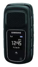 Brand SAMSUNG Rugby 4 SM-B780A Black AT&T Unlocked Flip Cellular Phone
