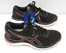 Asics Womens Gel-Cumulus 20 Running Shoes, Black/Flash Coral - 6.5 US,37 1/2 EU