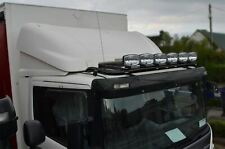 Roof Bar + LED + Spots + Beacons For Iveco Stralis Cube HW Active Day Low BLACK