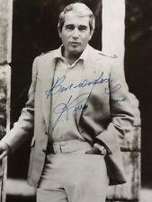 Perry Como Singer/Actor Autographed 8x10 B/W Photograph