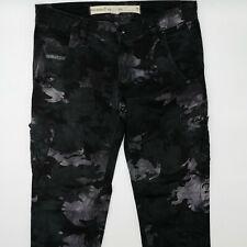 Diesel Slim W26 L27 camouflage Damen Jeans Designer Denim Retro Hose VTG Mode
