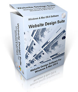 Website Design Suite Professional Software HTML/CSS Editor Edit Web Pages & Site