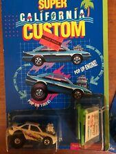 Hot Wheels Laguna Lightning Super Cal Custom With Stickers and Engine Hoist