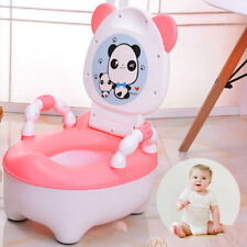 Baby Toddler Fun Potty Training Toilets Seat Toilet Trainer Chair Stool Cartoon