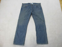 Levis 501 Jeans Mens 42 Waist 32 Inseam Blue Denim Pants Red Tab 42x32 A05*