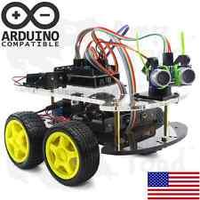 4WD Arduino Smart Car Robot Learning Starter Kit - Smart Programmable Robot DIY