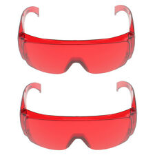 Lot 2 Pairs Dental Protective Safety Goggles Eye Glasses Spectacles Eyewear