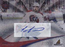 11-12 Pinnacle Louis Leblanc Auto Rookie Canadiens Panini 2011