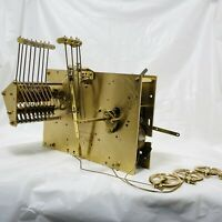 Vintage Hermle Grandfather Clock Movement 2071-850 Triple Chime German 8 Day