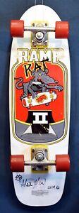NOS (1988) ~ Variflex / Ramp Rat II / **Autographed** / Complete Skateboard!