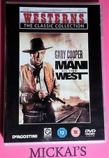MAN OF THE WEST - WESTERNS THE CLASSIC COLLECTION WTCCN15 DeAGOSTINI DVD PAL OOP