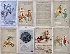 Tournai Doornik Cortège Tournoi -  8 antique postcards posten and stamped 1913