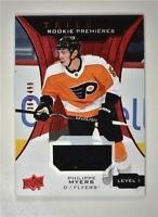 2019-20 UD Trilogy Red Foil Material #61 Philippe Myers /499 Philadelphia Flyers