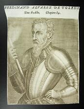 Ferdinand alvare Toledo Duc Delphin Vizekönig Naples andré thevet