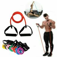 Yoga Elastic Resistance Bands Loop Exercise Gym Fitness Workout Stretch Physio