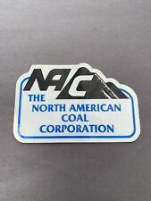 New listing Nacco Coal Mining Stickers  00006000 Hard Hat Rare Old
