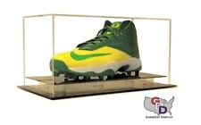 Counter or Desk Top Large Shoe Display Case by GameDay Display Size 17 and Under