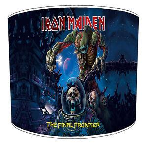 Iron Maiden Lampshades Ideal Para Combinar Pared Pósters Álbumes Cama Cortinas