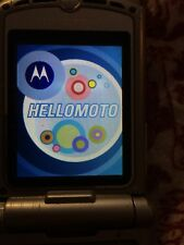 ≡ Motorola Razr Grey V3 Parts Not Working