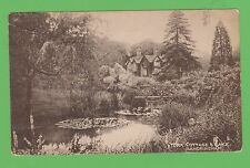 Postcard, York Cottage and Lake, Sandringham , Norfolk