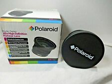 Polaroid .42x High Definition Fisheye Lens With Box lens Caps 58 mm Adapter ring