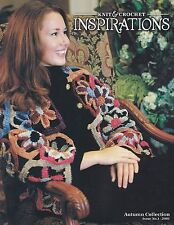Crochet & Knit Inspirations Lion Brand Pattern Booklet Autumn Collection Issue 1