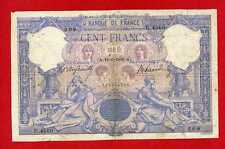(Ref: U.45 )  100 FRANCS BLEU ET ROSE 16/06/1906 (TB+) RARE