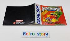 Nintendo Game Boy Burai Fighter Deluxe Notice / Instruction Manual