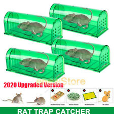 Humane Mouse Trap Reusable Cage Box Rodent Free Live Trap Rat Catcher for Indoor