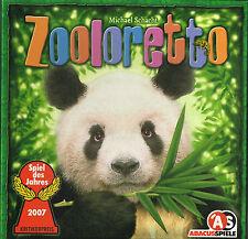 Zooloretto - Gesellschaftsspiel, Spiel des Jahres 2007 von Abacus, TOP