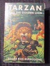 1950's TARZAN AND THE GOLDEN LION by Edgar Rice Burroughs VG+ Grosset & Dunlalp