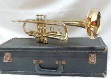 1969 OLDS Ambassador 🎺TRUMPET REFURBISHED with case and Benge Mouthpiece USA