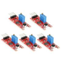 5pcs KY-038 Microphone Voice Sound Sensor Module Analog Digital Output Kit
