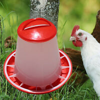 1.5kg Plastic Food Seed Automatic Feeder For Chicken Chick Hen Chook Poultry FAA